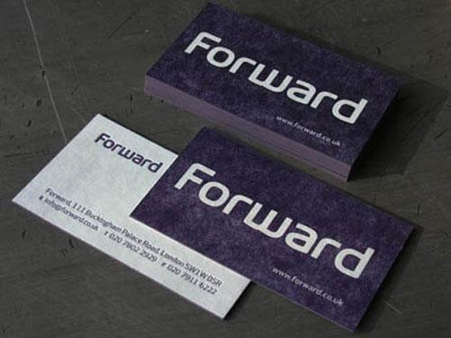 Forward Blotter Business Cards