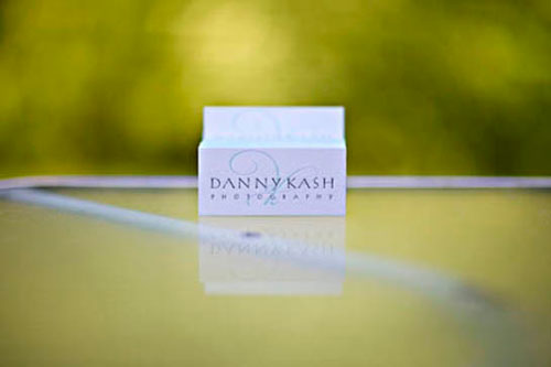 Danny Kash Photography Business Card
