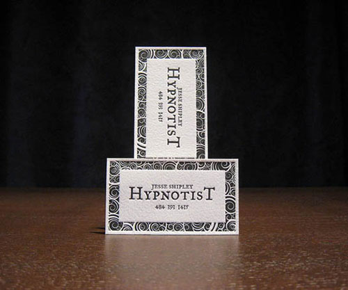 Hypnotist Business Card