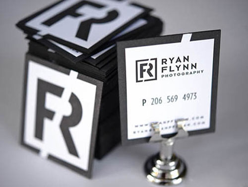 Letterpress Ryan Flynn Photography Business Card