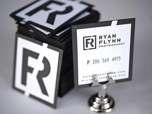 Letterpress Ryan Flynn Photography Business Card