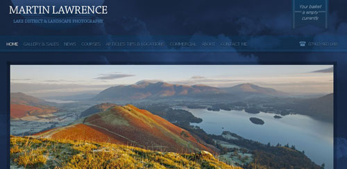 Martin Lawrence Lake District and Landscape Photography