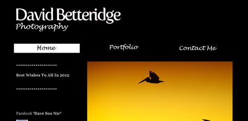 David Betteridge -  Photography Portfolio Of David Betteridge