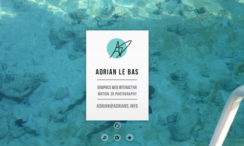 The World of Adrian Le Bas