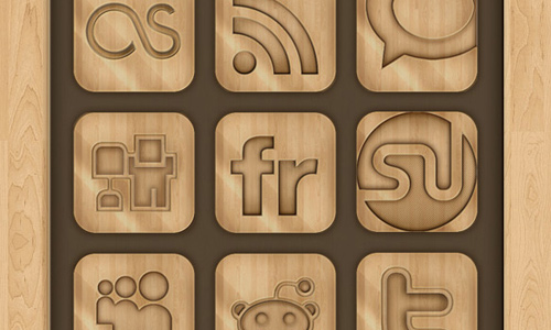 wooden social networking
