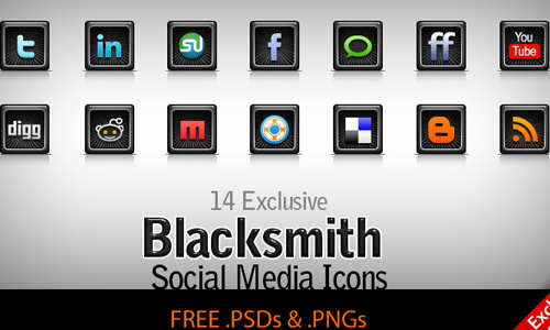 blacksmith social media