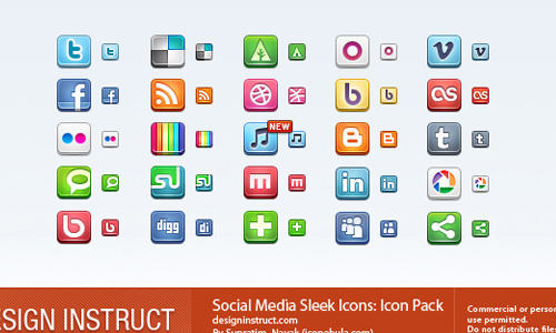 sleek icons icon