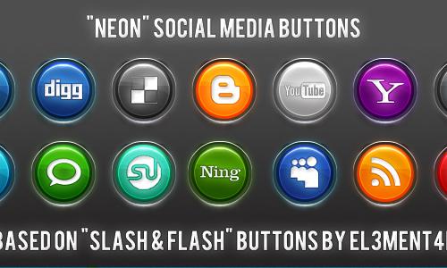 Neon Social Media
