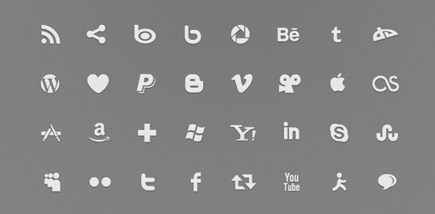 50 Amazingly Free Social Media Icon Sets