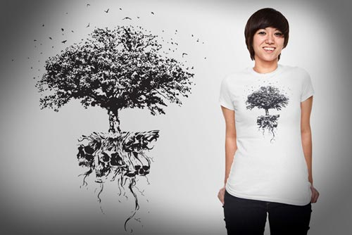 Rooted Skulls
