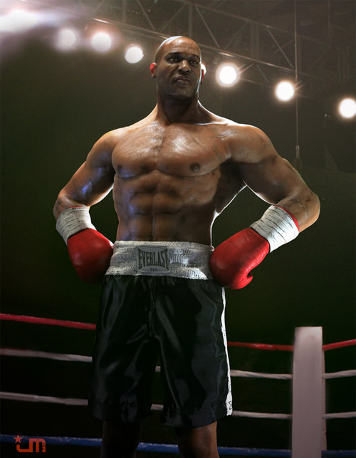 The Boxer by jeff miller
