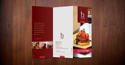 Basement on View Brochures