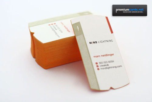 Marc Neidlinger 24pt Custom Business Cards - PremiumCards.net