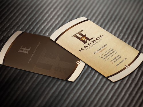 Harbour Electric Business Cards