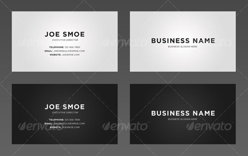 35 Modern Corporate PSD Business Card Templates | Web & Graphic ...