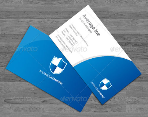 """Shield"" Business Cards"