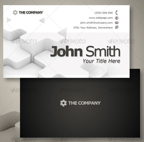 Pure business - Business Card