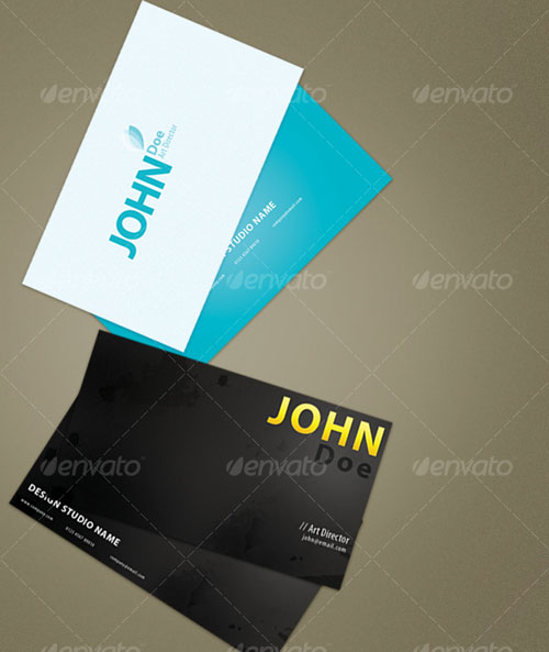 Simple and Grunge Business Cards