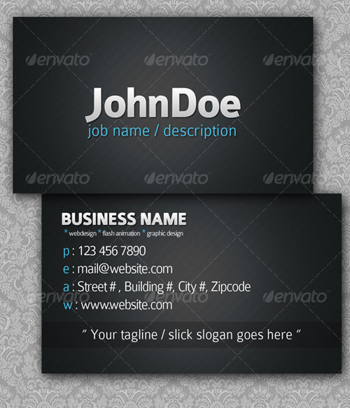 SimpleLine Business Cards