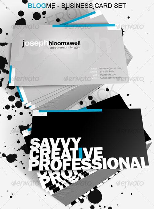 Blog Me Business Card
