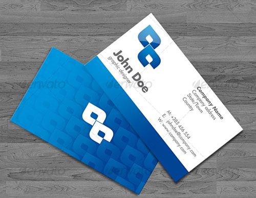 35 modern corporate psd business card templates web graphic blue business cards 4 versions wajeb Choice Image