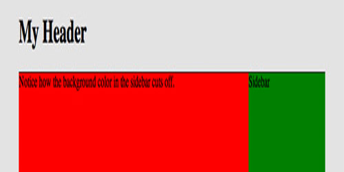 Mimic Equal Columns with CSS3 Gradients