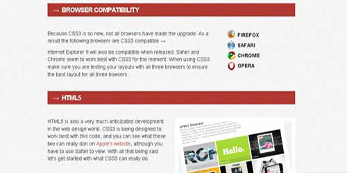 CSS3 Buttons & Transitions