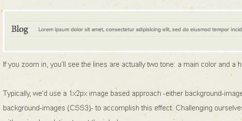 Two-Tone Borders with CSS3