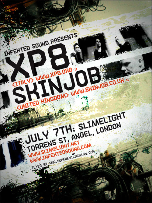 XP8 and Skinjob Web-Flyer