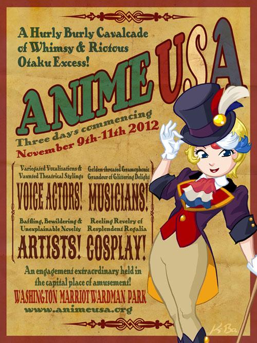 Anime USA 2012 Flyer