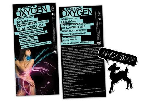 OXYGEN DJs Flyer 2