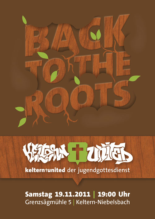 Back to the Roots - JuGo Flyer