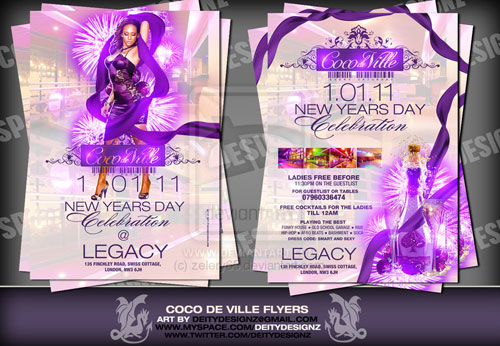 coco de ville flyer two sides