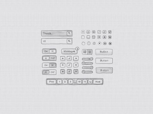 Hand Drawn UI Kit