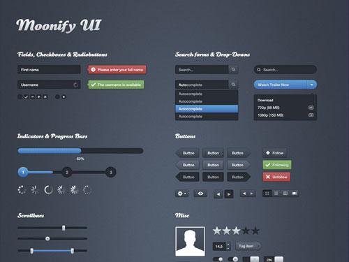 Moonify Ui