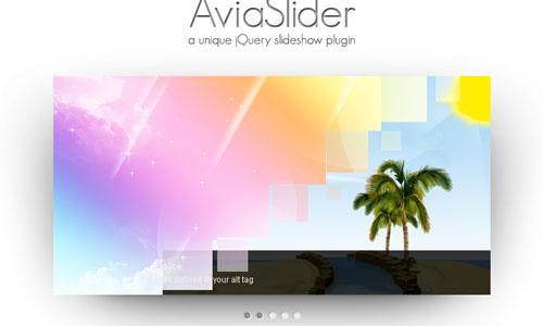 AviaSlider – jQuery Slideshow