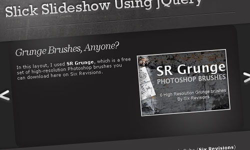Slick and Accessible Slideshow Using jQuery