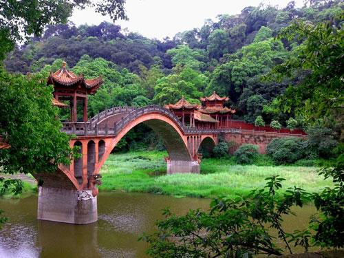 The Bridge to Wuyou Temple