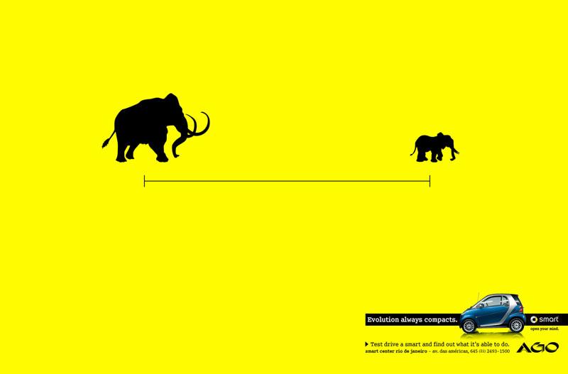 30 Smart Minimalist Print Ads