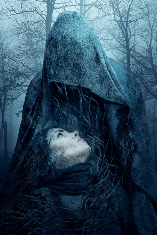 Make a Dark Statue with 3D Tentacles Photo Manipulation
