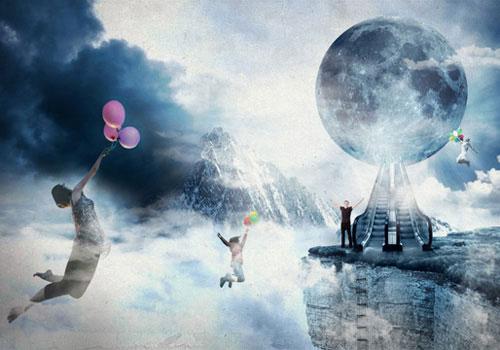 Photo Manipulate an Artistic Cloudscape Scene