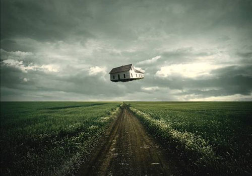 How to Create a Surreal Traveling House Photo Manipulation