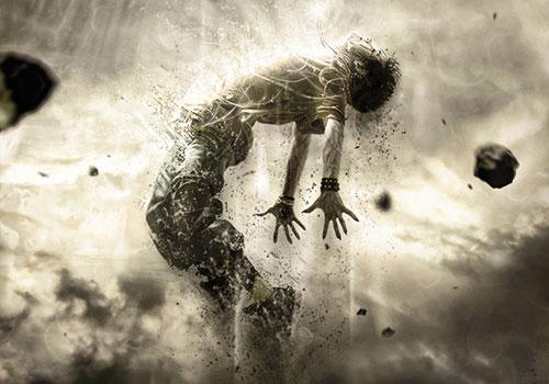 Create a Powerful Human Disintegration Effect
