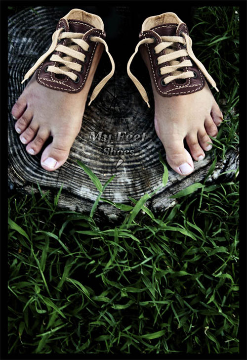 How to Create Feet Shoes in Photoshop