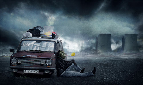 Create a post-apocalyptic photo manipulation