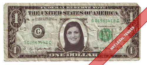 Photoshop your own money