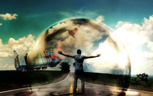 Create a powerful mental wave explosion effect