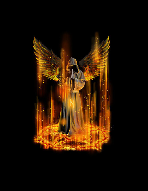 How to Create a Death Angel Concept Design in Photoshop