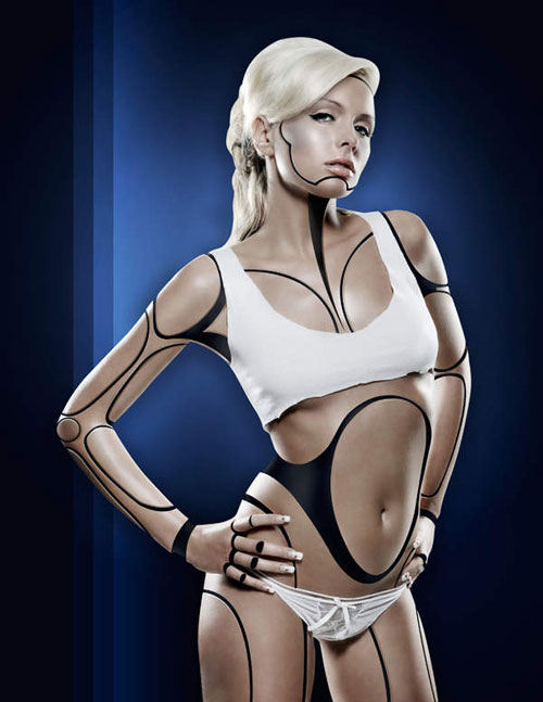 Create a Human/Robot Hybrid in Photoshop