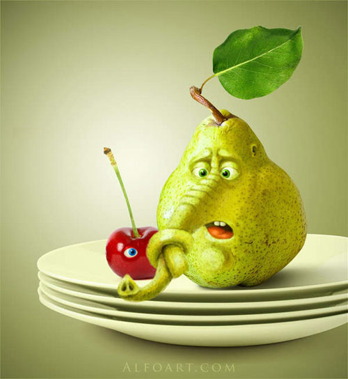 Confused Pear